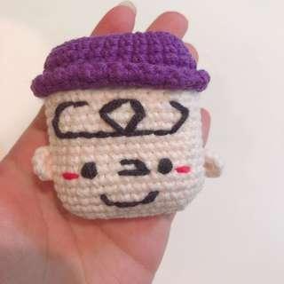 Instock crochet AirPods case