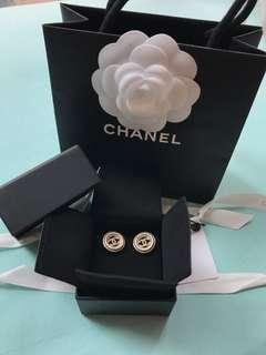 Chanel Earrings (with original receipt)
