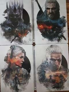 Witcher 3 G1 Steelbooks