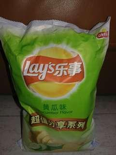 Cucumber Flavor 235g 馬鈴薯片