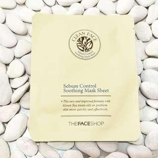 The Faceshop Sebum Control Sheet Mask