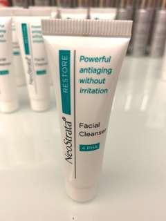 NeoStrata restore facial cleanser 4 AHA 溫和潔面啫喱 10ml
