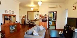 High floor. Fully furnished 3-bedder for rent!