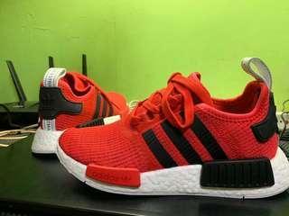 Adidas NMD R1 Red Black (New)