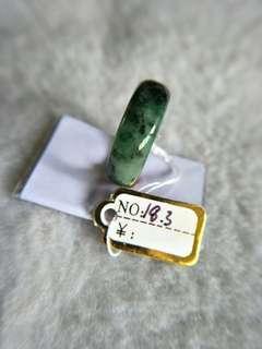 翡翠玉戒内径18.3mm