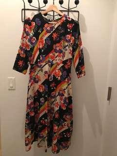 Zara Multicoloured Dress