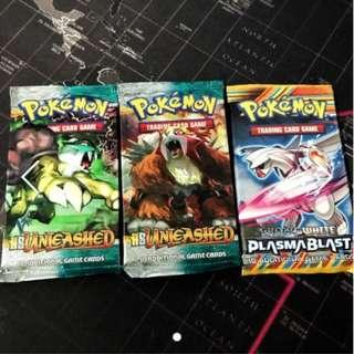 HGSS: Unleashed & Plasma Blast Booster Pack