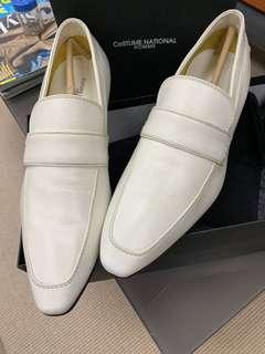 Cream White Leather - LV/Gucci/Dior/Hermès/Saint Laurent/Tod's