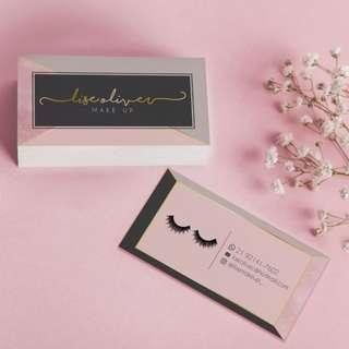 Customise Makeup Art Namecard for your Business now!
