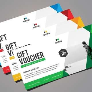 Discounted Vouchers Printing