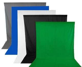 Chorma Green Backdrop 3m x 6m