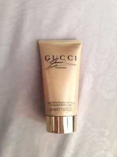 Gucci body lotion 50 ml isi sisa 60 %