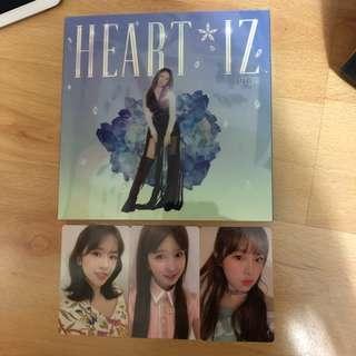 WTT/WTS IZ*ONE Heart*Iz album