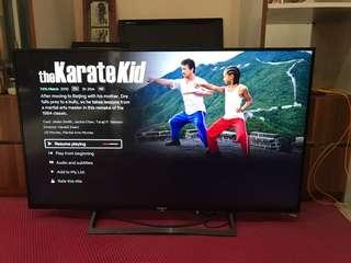 TV 4K Sony KD-49X8000E