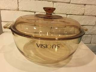 Corning Ware VISION Pot with Lid  4L