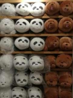 Boneka We Bare Bears By Miniso