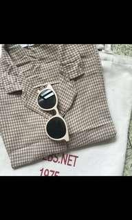 🚚 格子格紋短袖襯衫