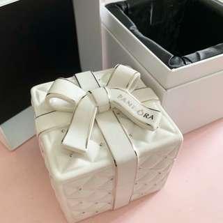 Brand New Pandora Ceramic Jewelry Box