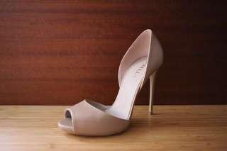 全新現貨 Le Silla 春夏百搭 優雅氣質 經典裸色 性感魚口高跟鞋