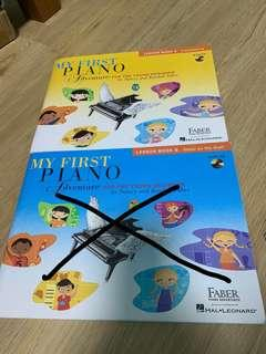 🚚 Used piano books for beginner or grade 1