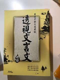 透視文言文 中文