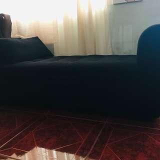 Black Cleopatra Sofa