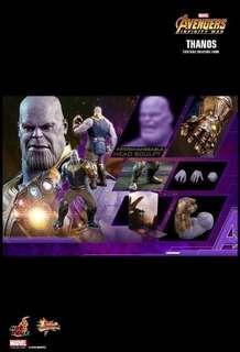 早期訂單 Hottoys Thanos 滅霸 Infinity War MMS479 Avengers 3 復仇者