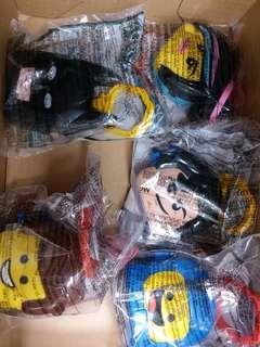 麥當勞玩具 5隻 the Lego movie2