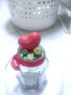 草莓造型玻璃瓶