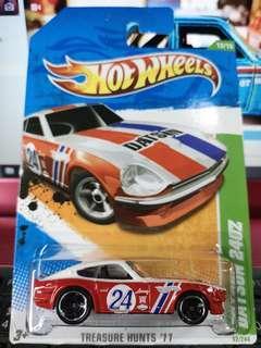Hot Wheels Treasure Hunts '11 Datsun 240Z