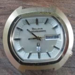 100% New Bulova accuquartz watch
