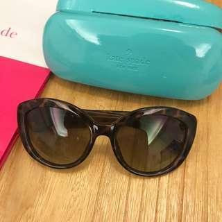 全新Kate Spade岱瑁色太陽眼鏡 墨鏡 有盒有袋子