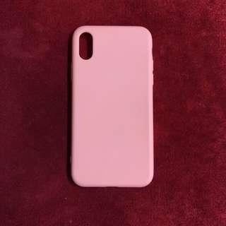 Case iPhone X Pink