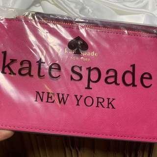 Kate spade pouch original ready gold 2 pcs
