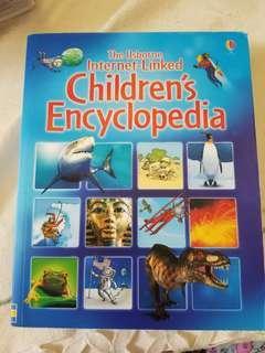 Children's encyclopedia book