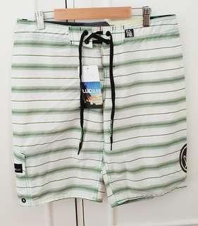 Fluid surf board shorts brand new