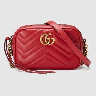 🚚 Gucci GG Marmont camera mini bag