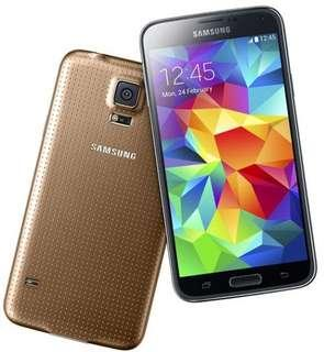 🚚 Samsung Galaxy S5 Bronze Gold Local set