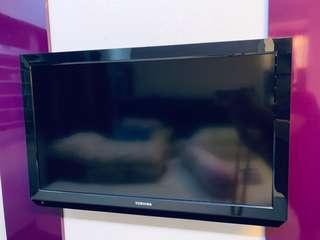 32 inch Toshiba Tv with Geetv box (Price Reduced)