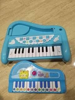 🚚 鋼琴玩具買大送小