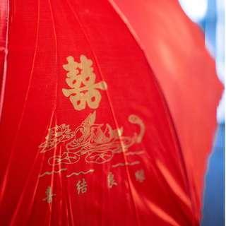 《新娘出門紅傘 》簡潔款