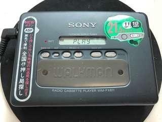 Sony Walkman WM-FX811 made in Japan