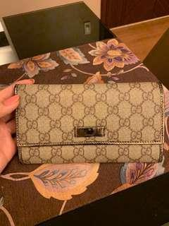 Gucci Trifold Long Wallet