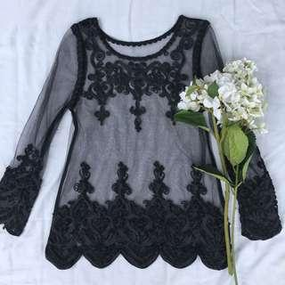 Princess Polly • lace detailed top