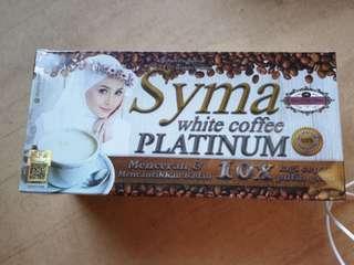 ❤️SYMA WHITE COFFEE PLATINUM❤️