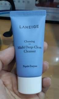 (ORIGINAL) Laneige Cleansing Multk Deep Cleanser 30ml