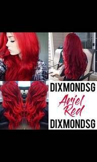 DixmondSG Hair Dye 100ML Ariel Red