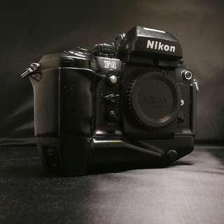 Nikon F4s with MB-21 battery grip
