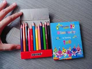 Pensil Warna Gratis