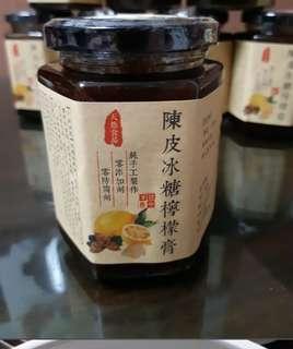 新鮮自家制,陳皮冰糖燉檸檬